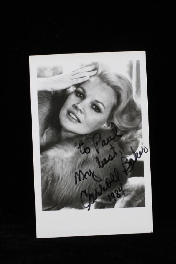 Group of 10 Autographs, Raquel Welch, Etc. - 4