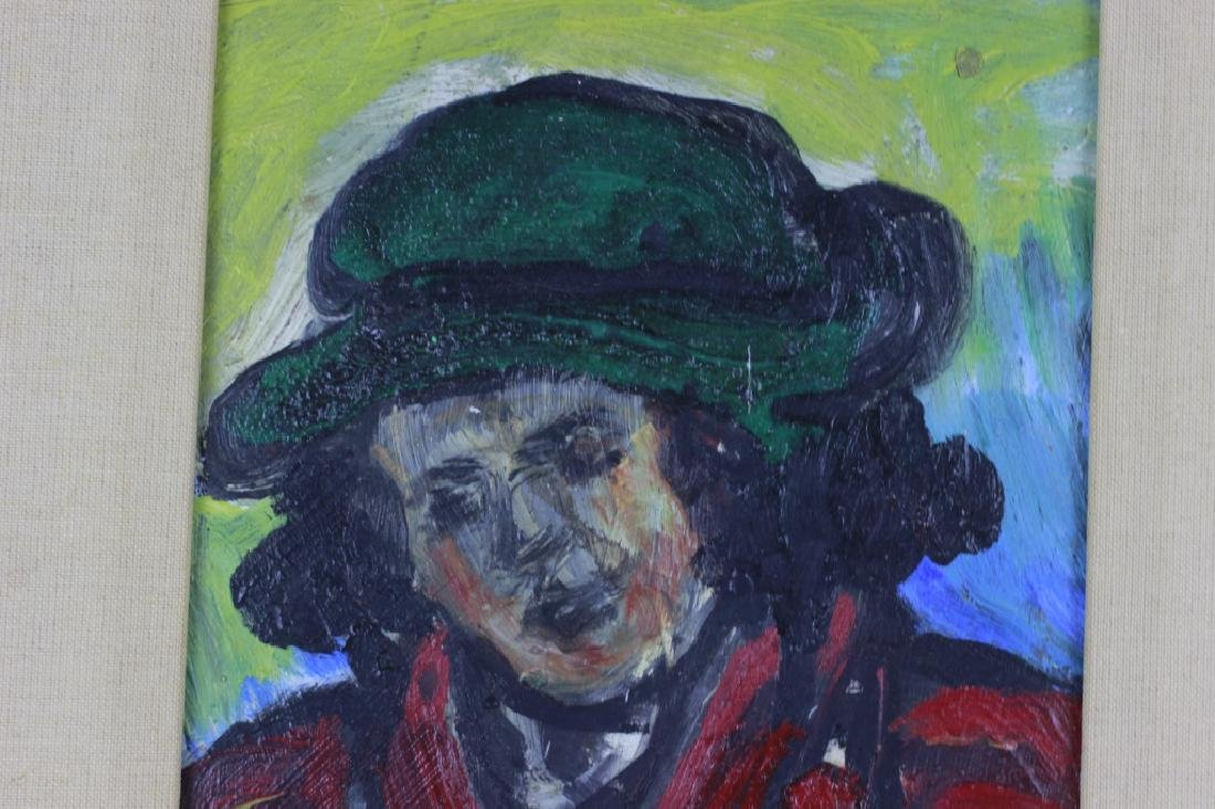 Oil on Board Painting - 2
