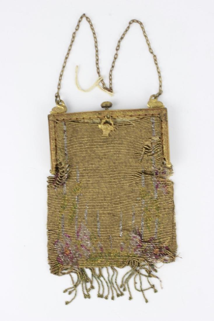 19thc Ladies Mesh Evening Bag