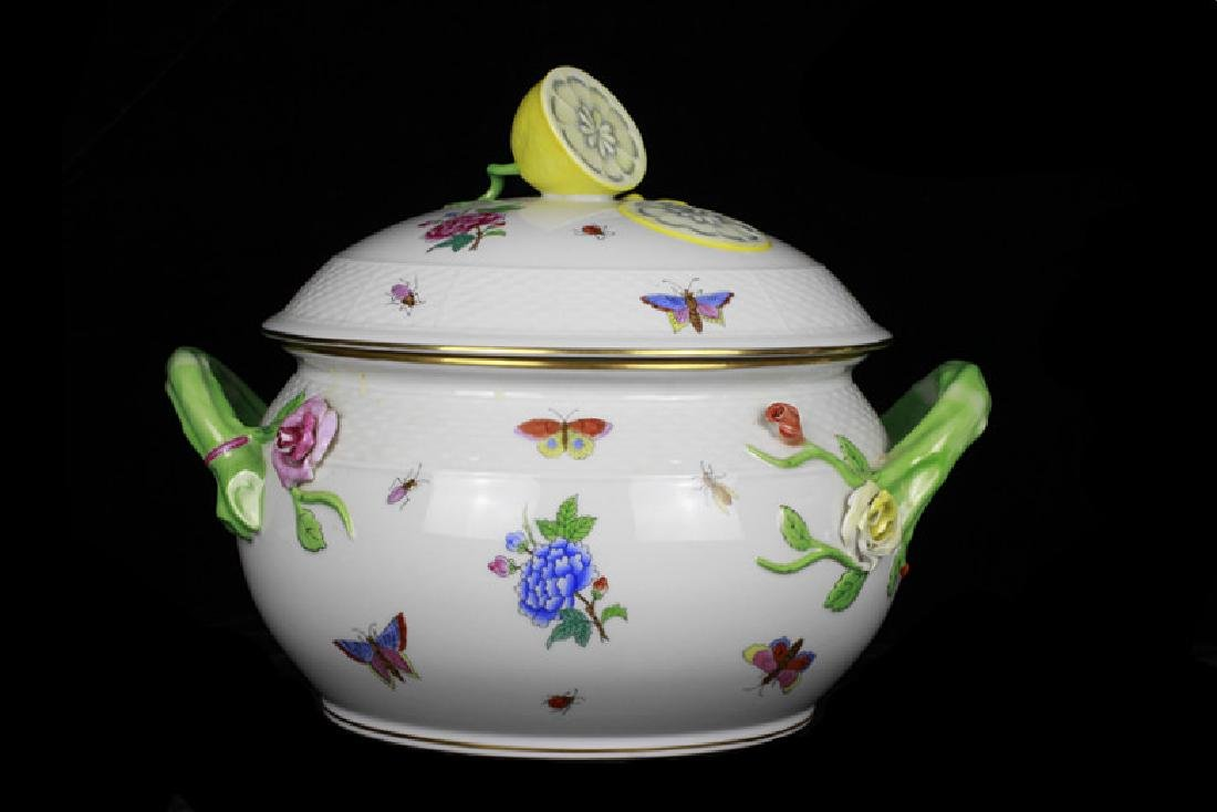 Herend Hand Painted Hungarian Tureen