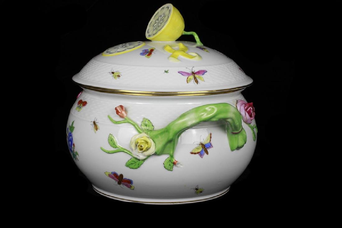 Herend Hand Painted Hungarian Tureen - 2