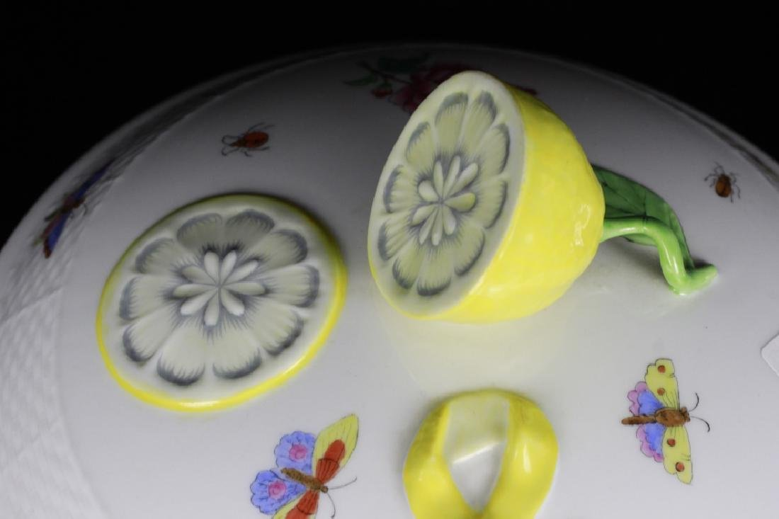 Herend Hand Painted Hungarian Tureen - 3