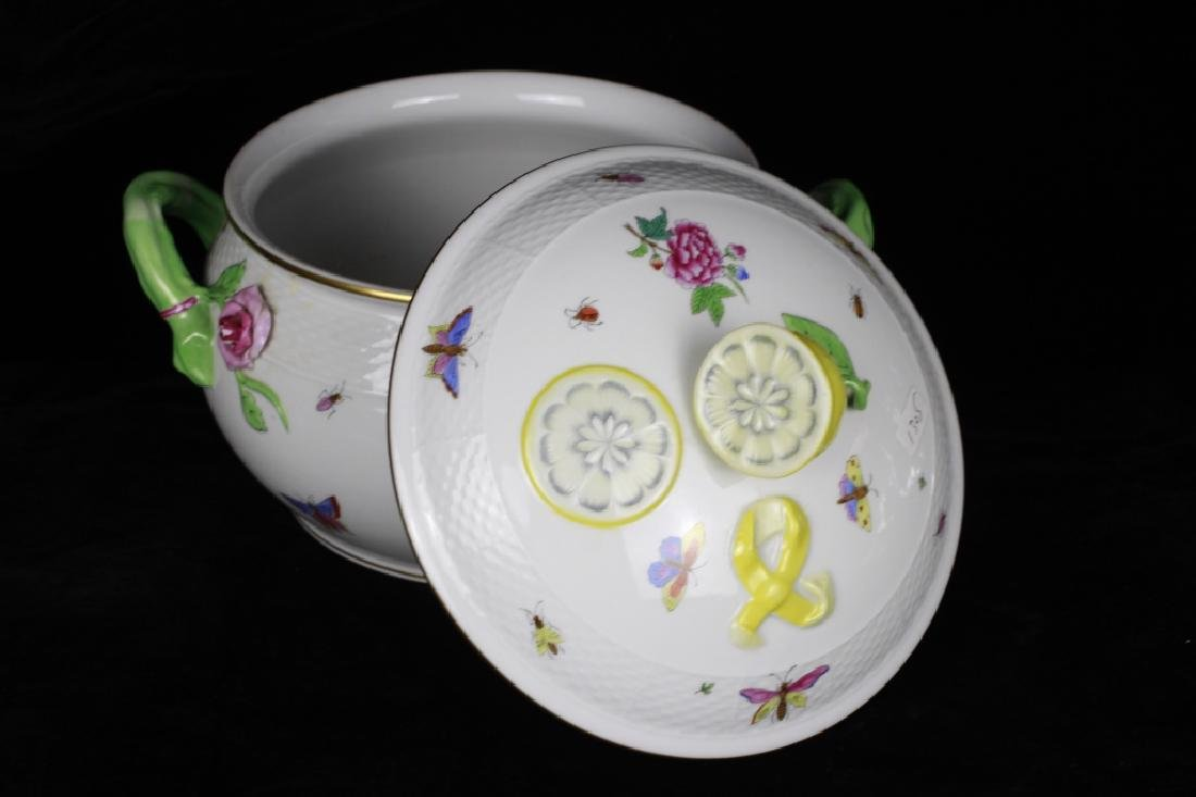 Herend Hand Painted Hungarian Tureen - 7