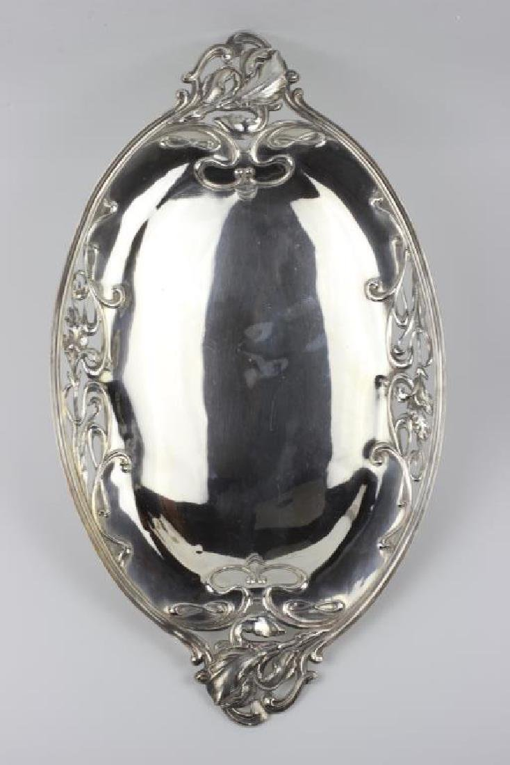 French Sterling Silver  Art Nouveau Dish - 4
