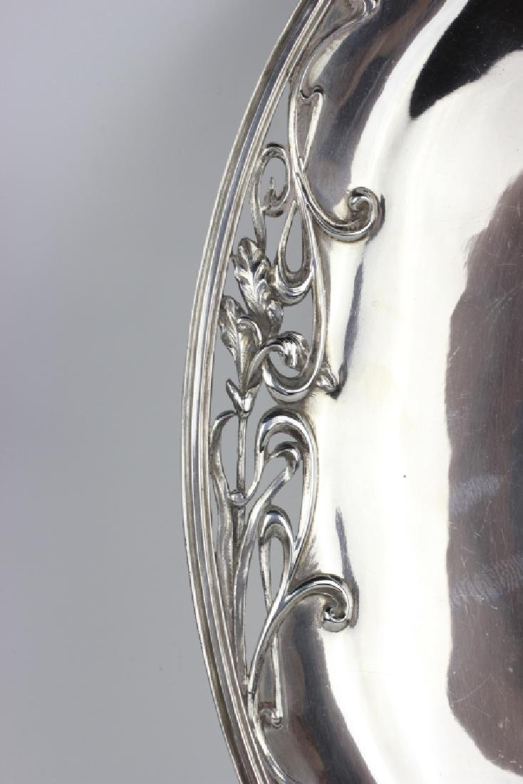 French Sterling Silver  Art Nouveau Dish - 5