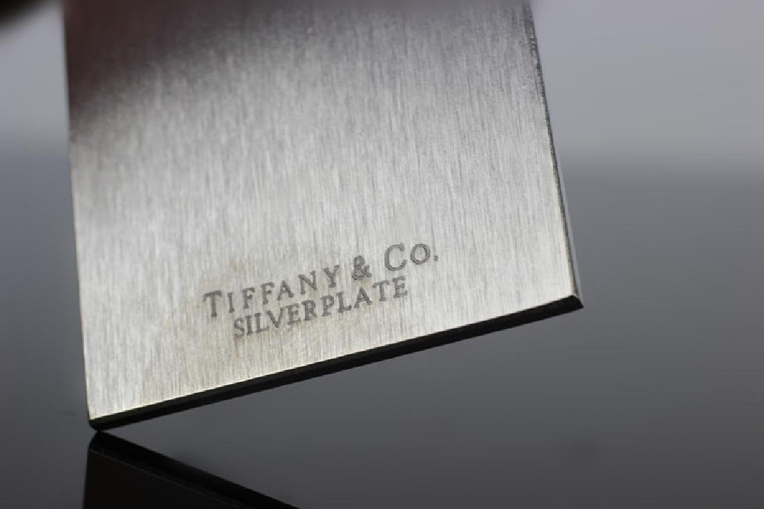 """3 Tiffany & Co. 7"""" Rulers. Silver Plated - 3"""