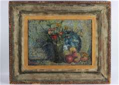 O/C Painting, David Burliuk, Ukrainian American
