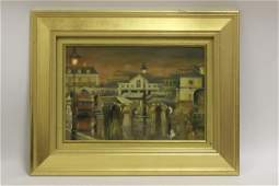 Oil on Board Peter Price British 19thc20thc