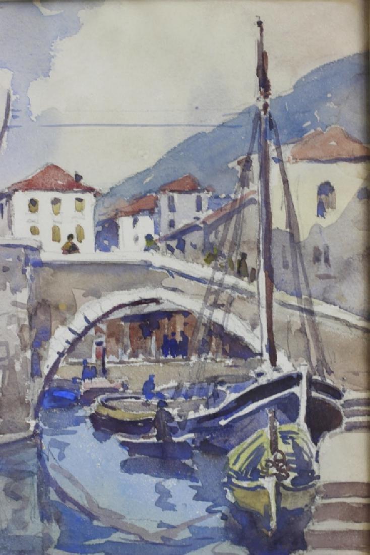 Julius Delbos Watercolor - 2