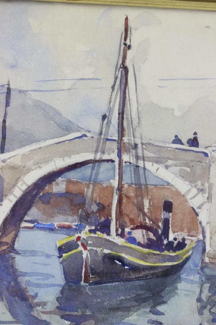 Julius Delbos Watercolor - 3