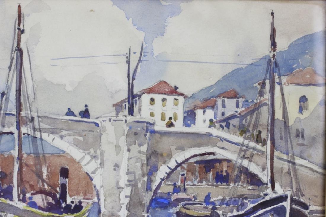 Julius Delbos Watercolor - 4