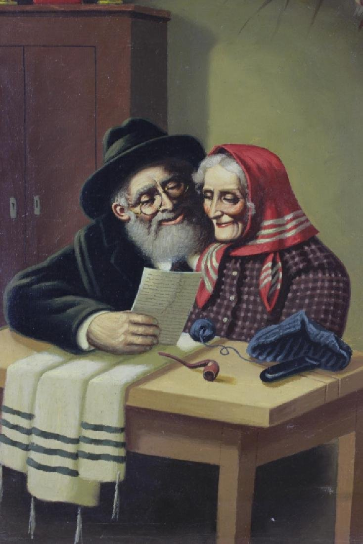 Judaica O/C, Husband & Wife - 2