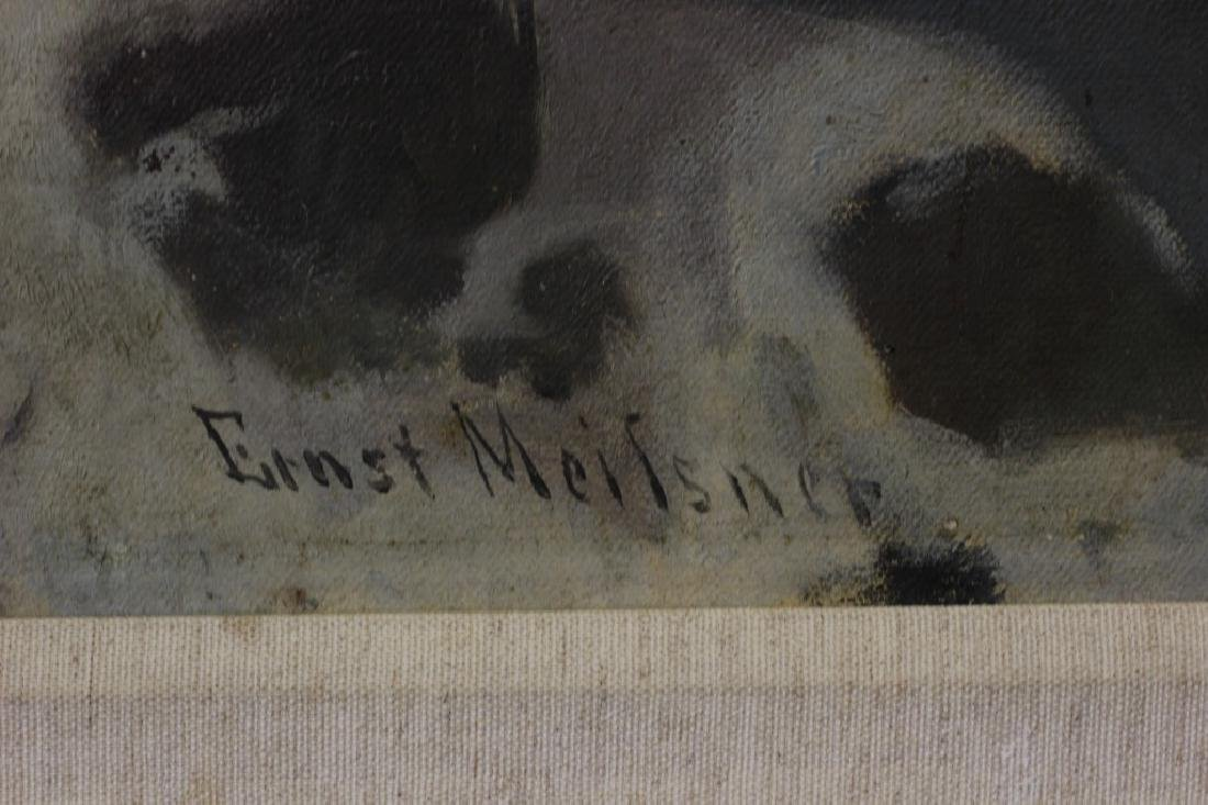 Ernst Meilsner, English Late 19thc Early 20thc O/C - 7