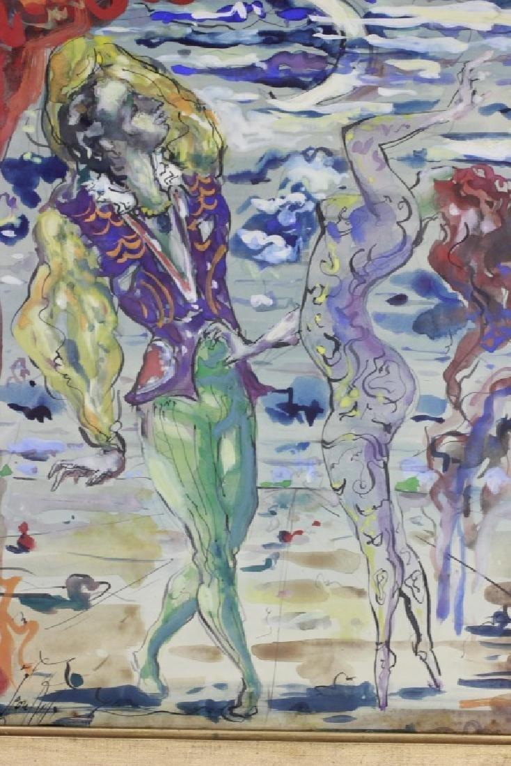 Leon Kelly,  American (1901-1982), Gouach & Ink - 2