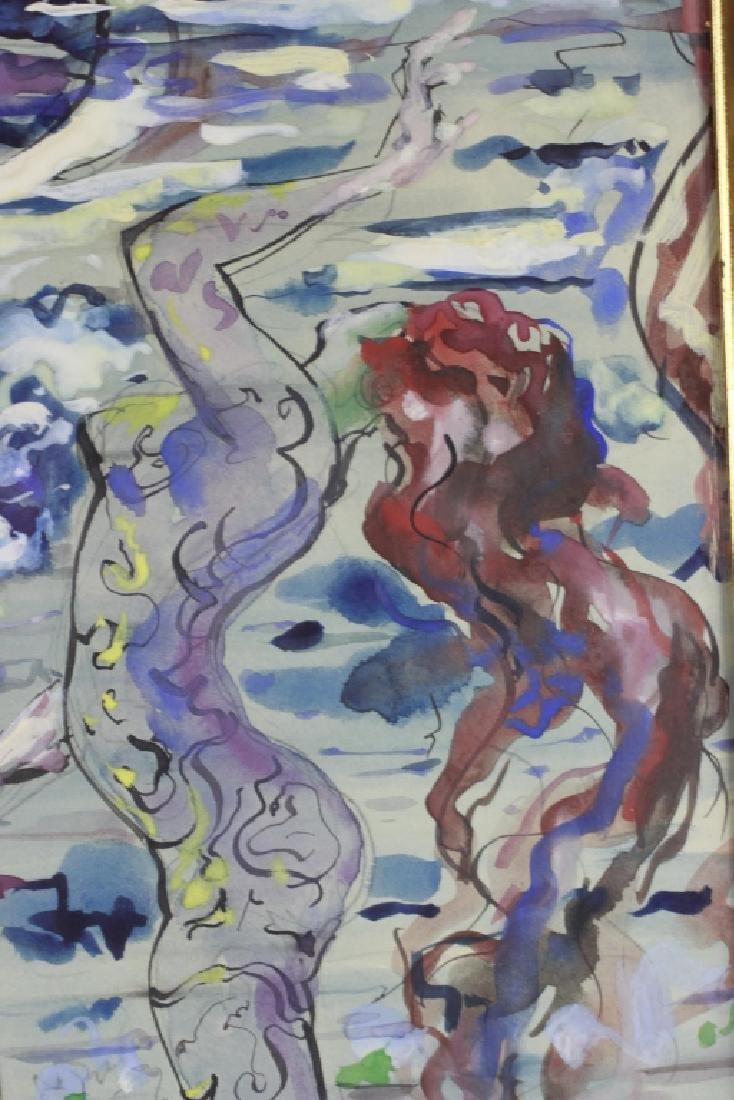 Leon Kelly,  American (1901-1982), Gouach & Ink - 4