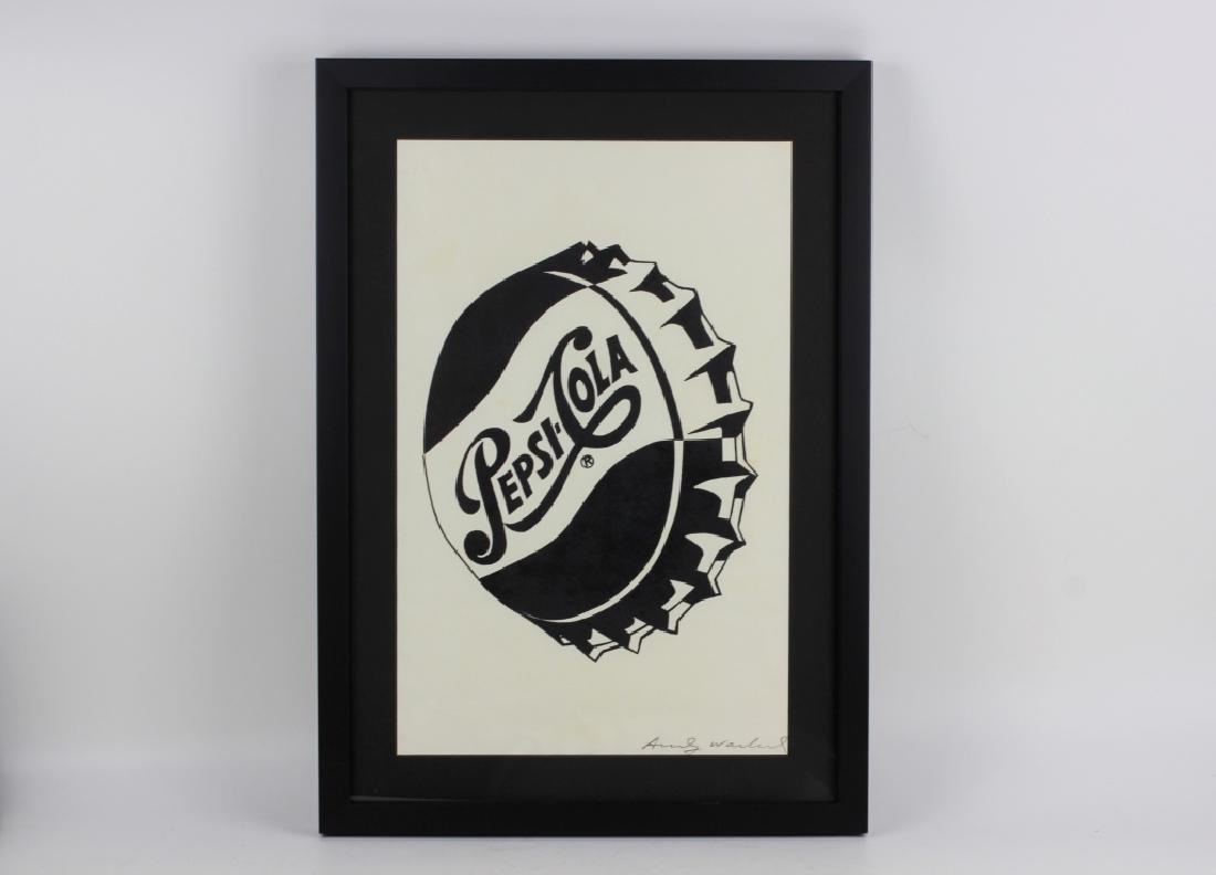 Pepsi Cola Andy Warhol Print