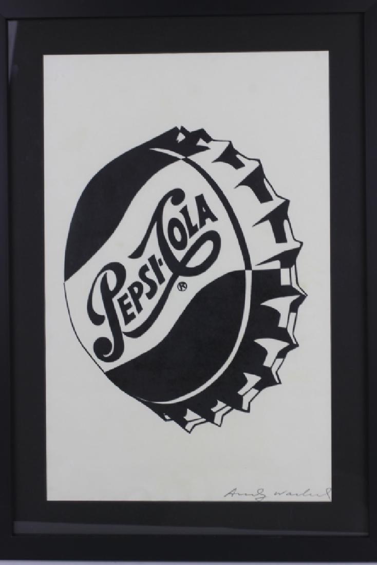 Pepsi Cola Andy Warhol Print - 2