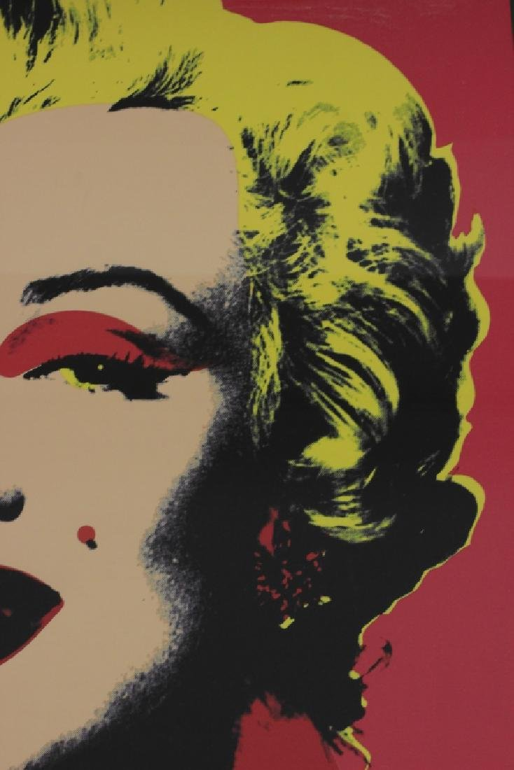 Marilyn Monroe Lithograph, Signed on Back - 4
