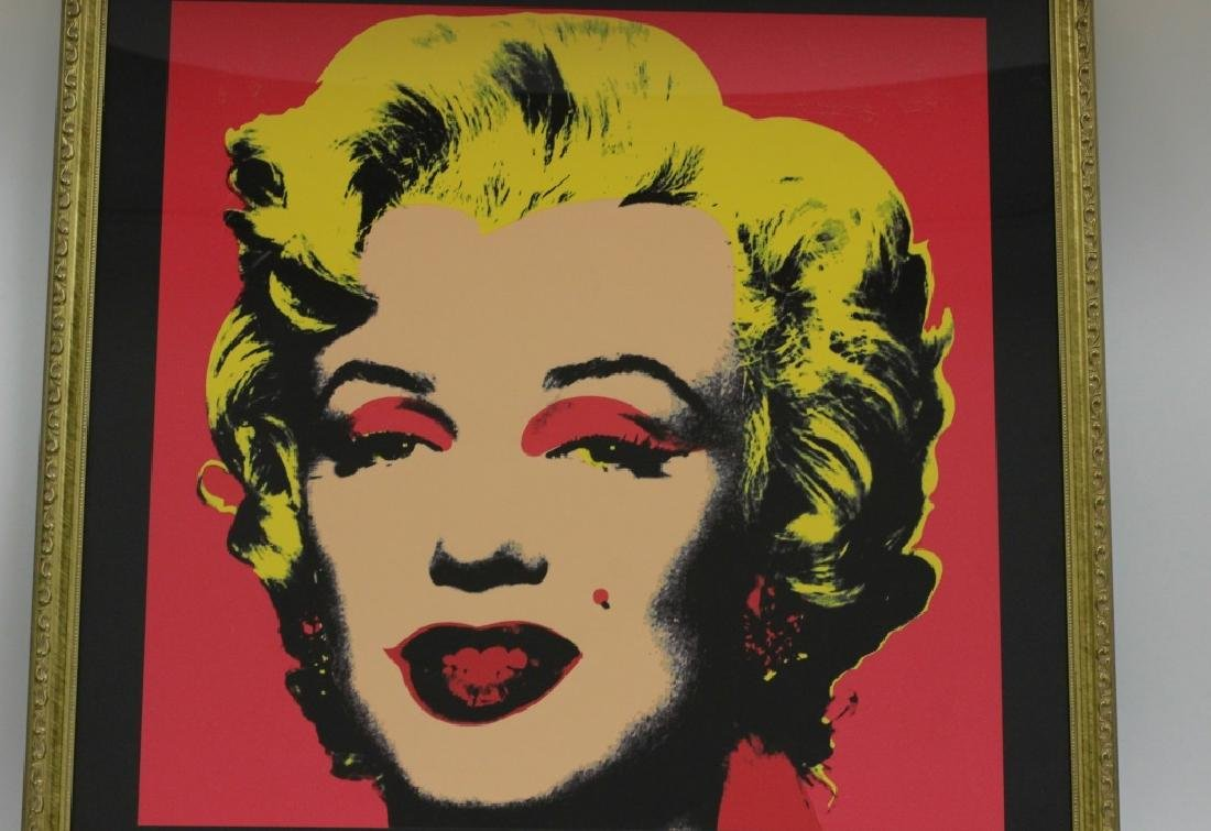 Marilyn Monroe Lithograph, Signed on Back - 7