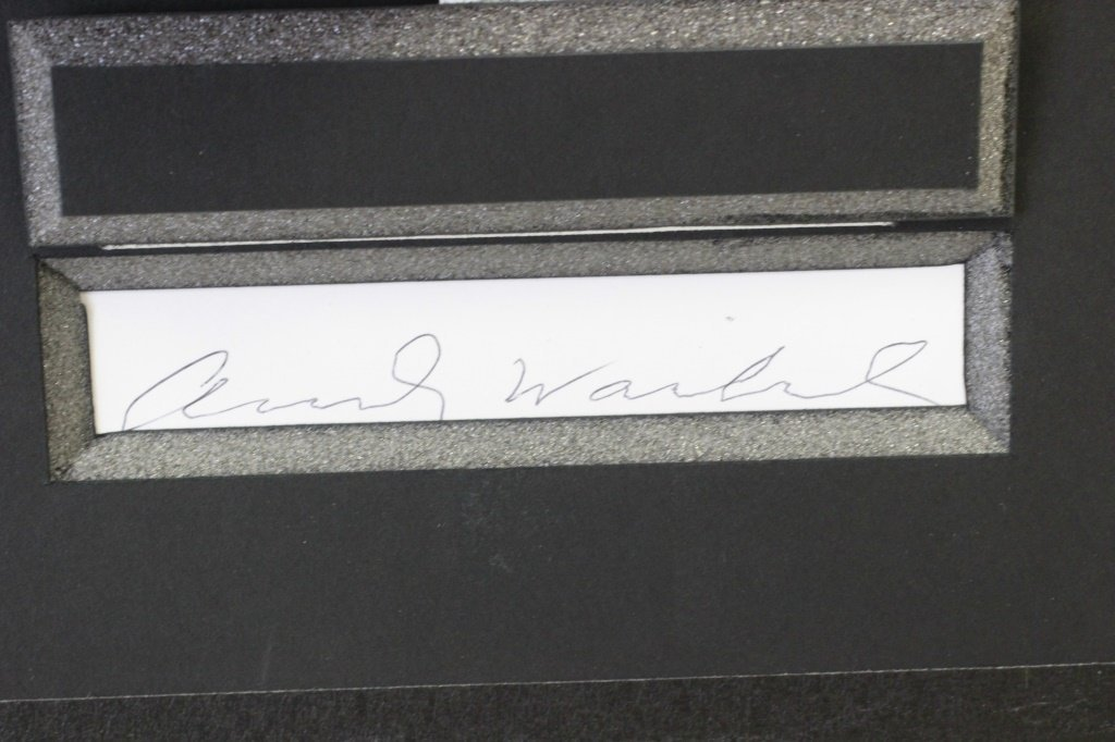 Marilyn Monroe Lithograph, Signed on Back - 8