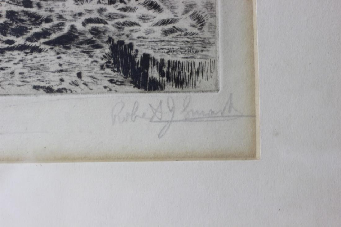 2 Early Signed Etchings & 1 Print - 4