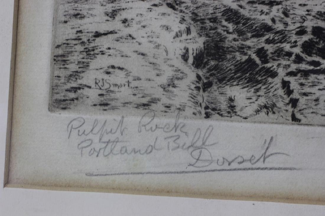 2 Early Signed Etchings & 1 Print - 5