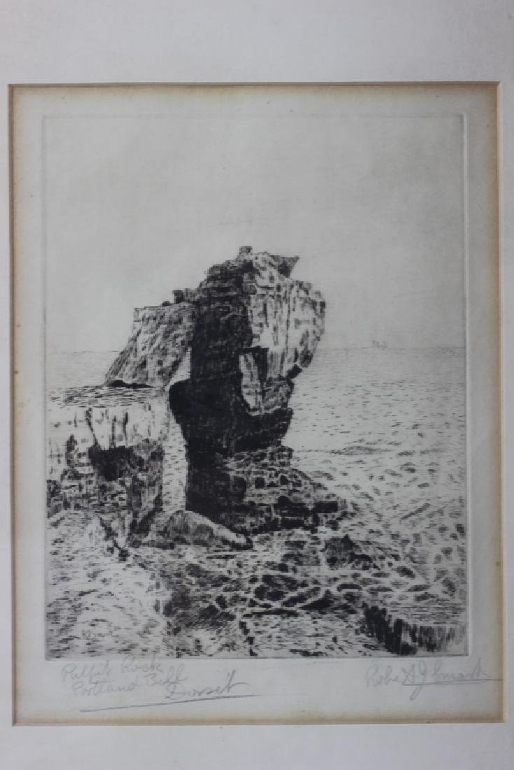 2 Early Signed Etchings & 1 Print - 6