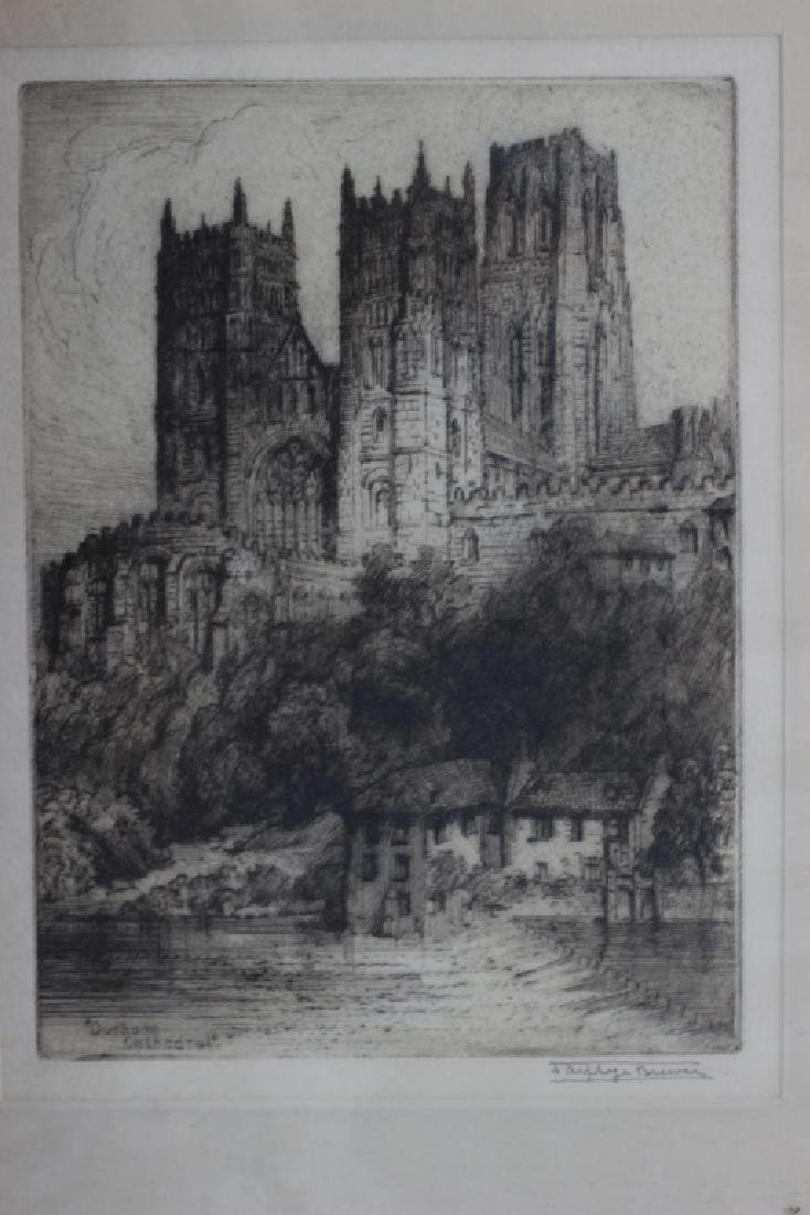 2 Early Signed Etchings & 1 Print - 7
