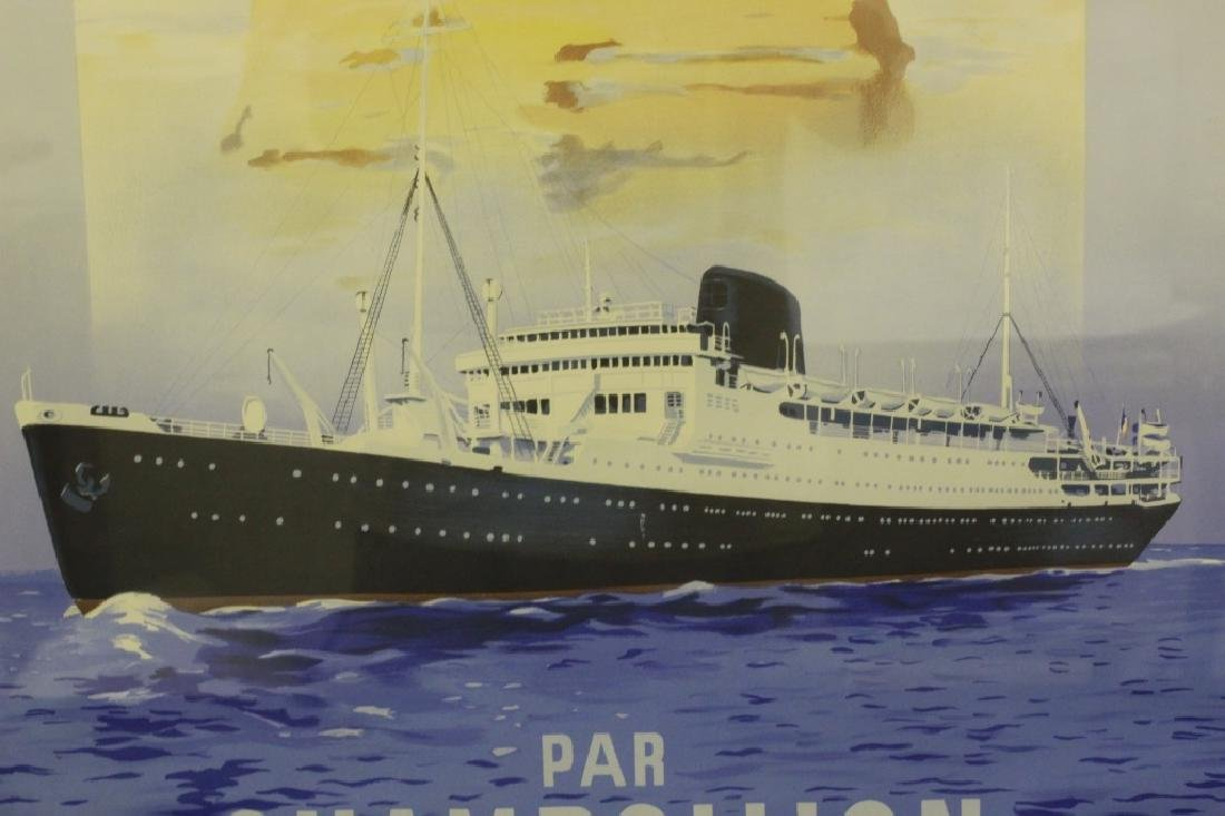 French Ocean Liner Poster - 10
