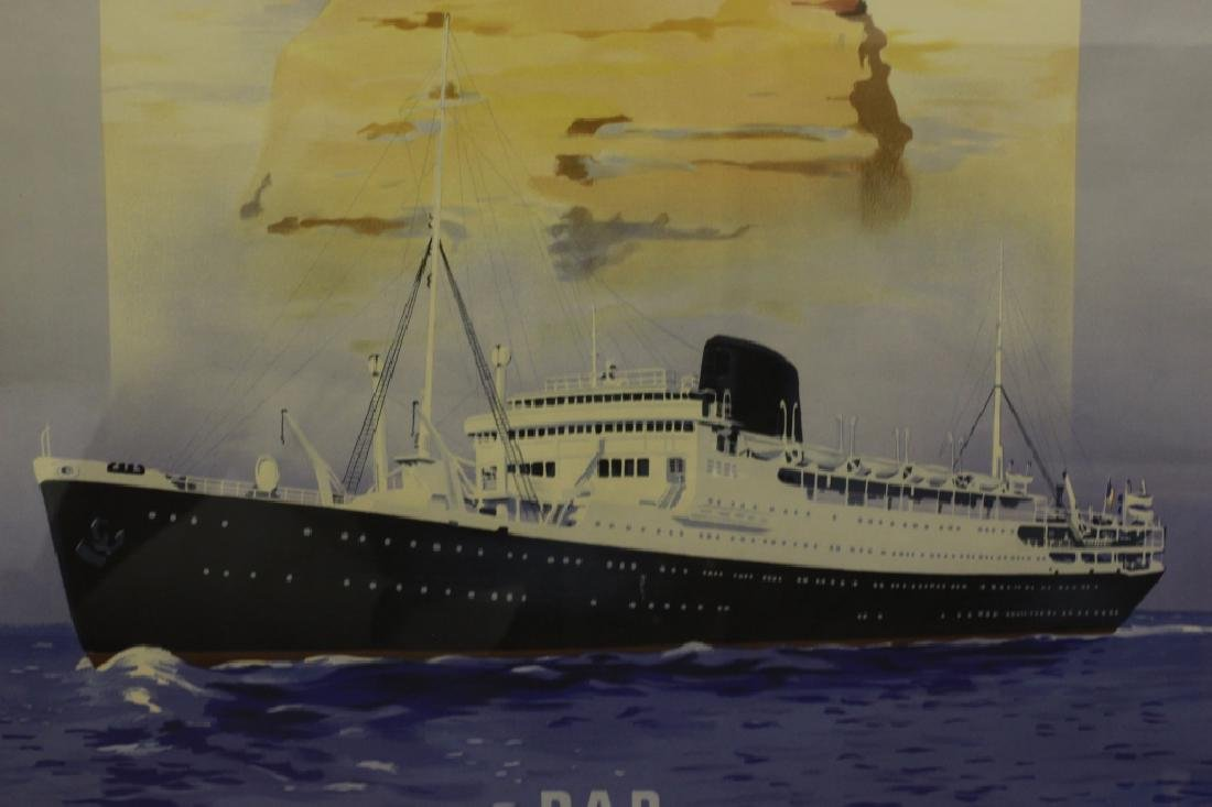 French Ocean Liner Poster - 6
