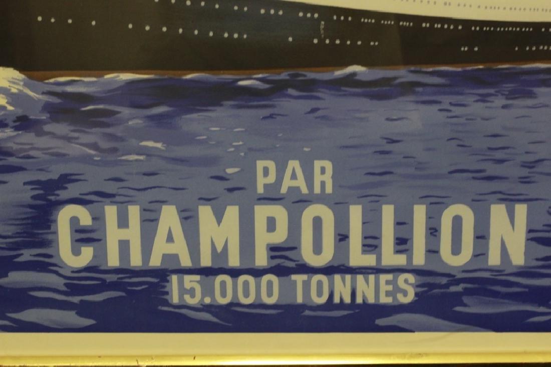 French Ocean Liner Poster - 7
