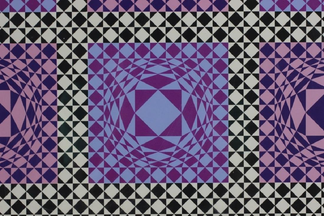 Signed Lithograph, Victor Vasarely, 36/250 - 8