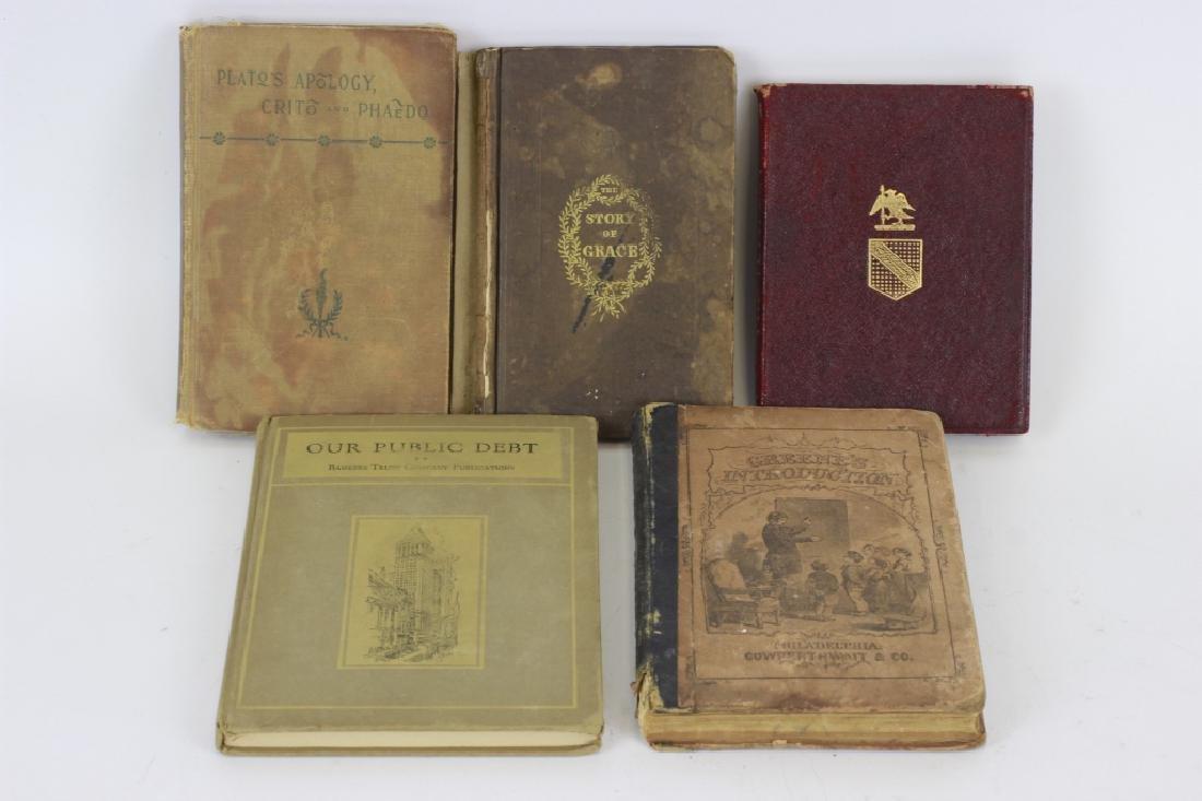 5 Old Books, Including Tempest, etc.