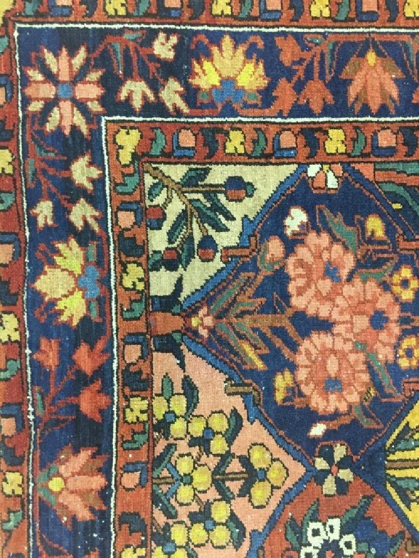 Antique Persian Bakhtiari Rug - 3