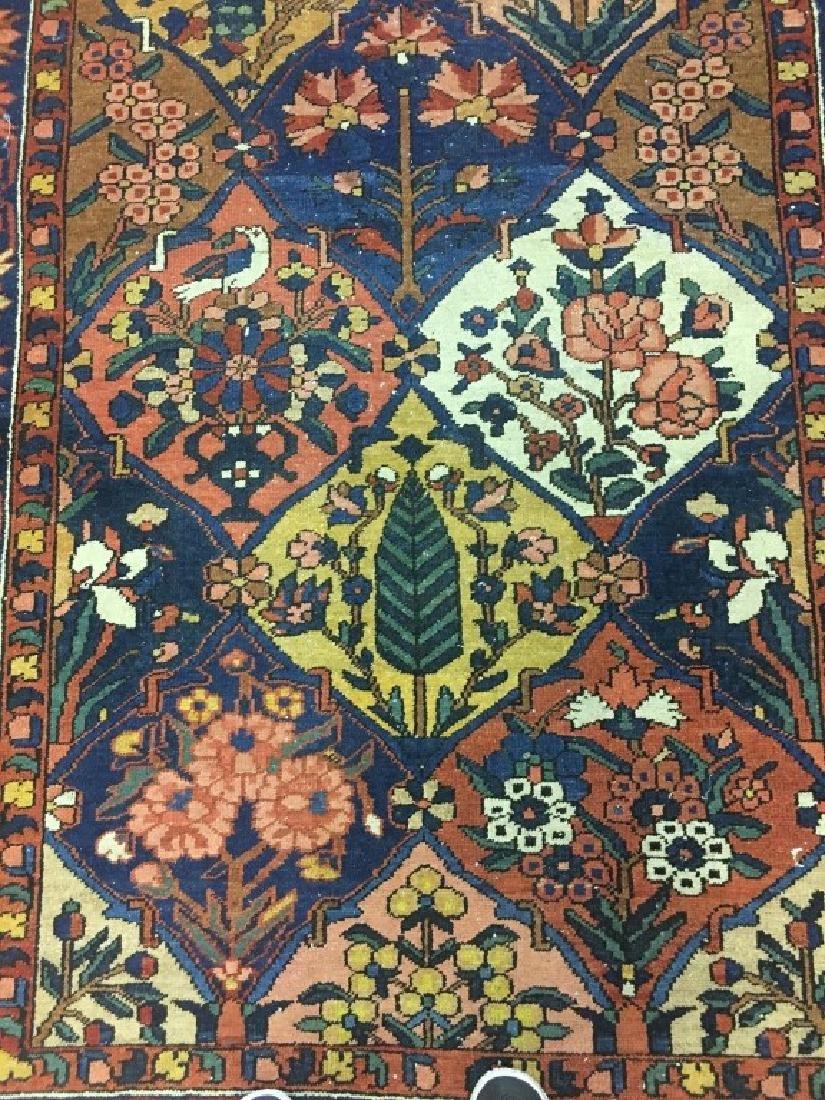 Antique Persian Bakhtiari Rug - 4