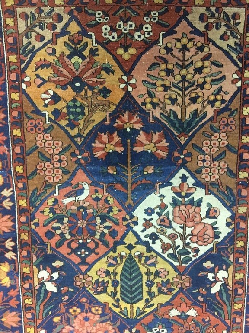 Antique Persian Bakhtiari Rug - 6