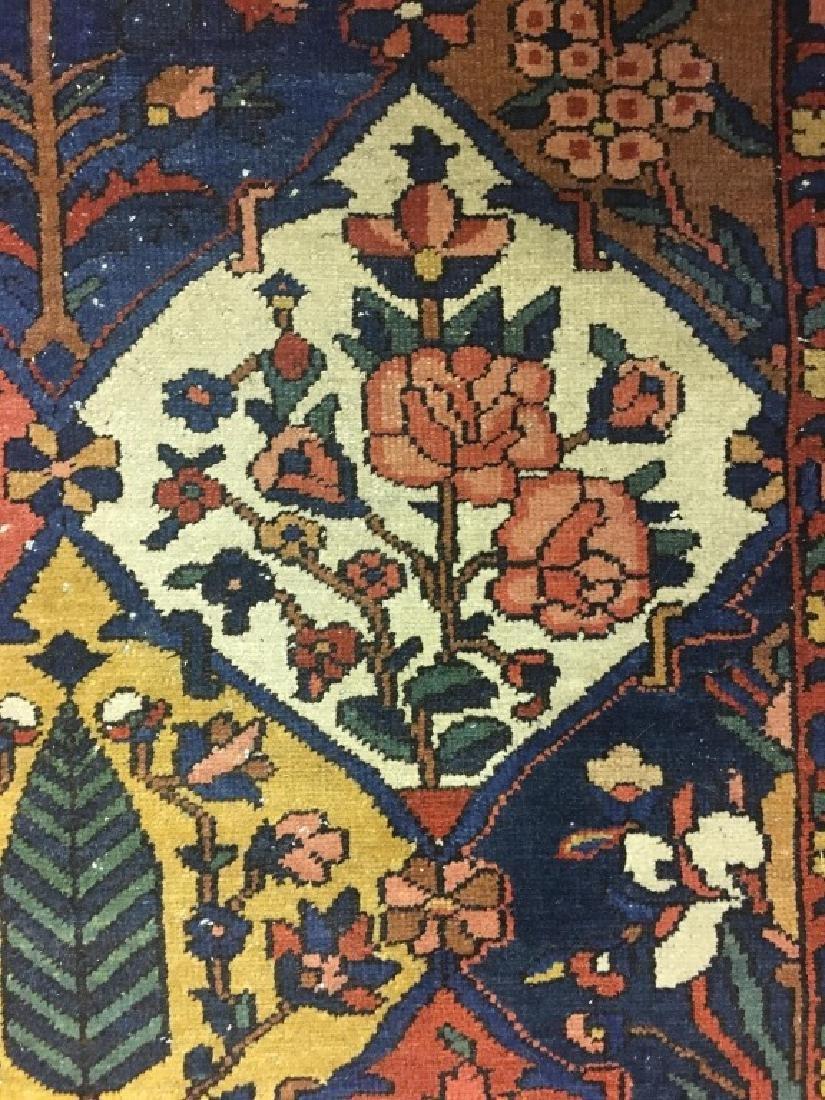 Antique Persian Bakhtiari Rug - 8
