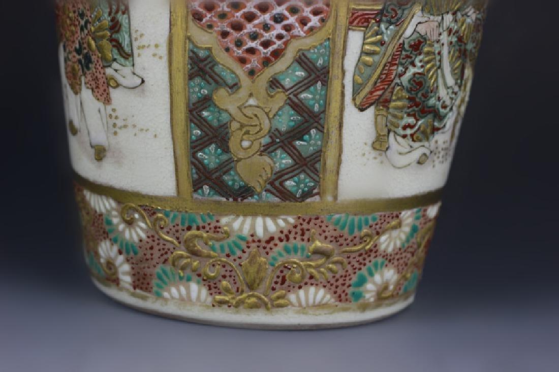 Japanese Satsuma Vase - 10
