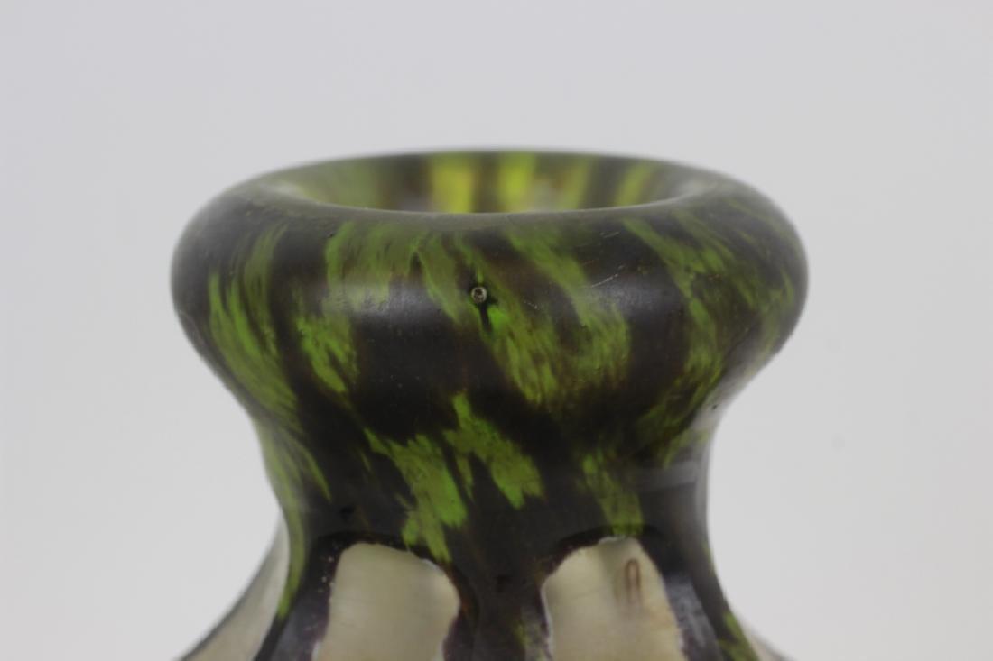 Daum Nancy Green Vase - 2