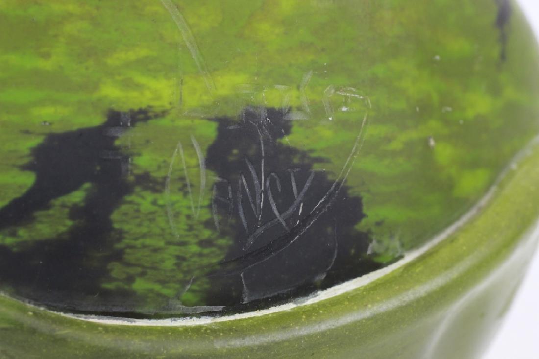 Daum Nancy Green Vase - 4