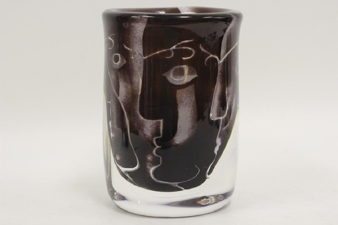 Orrefors Vase, Ariel, Nr 506-75 by Ingeborg Lundin