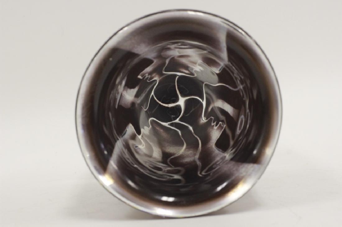 Orrefors Vase, Ariel, Nr 506-75 by Ingeborg Lundin - 4