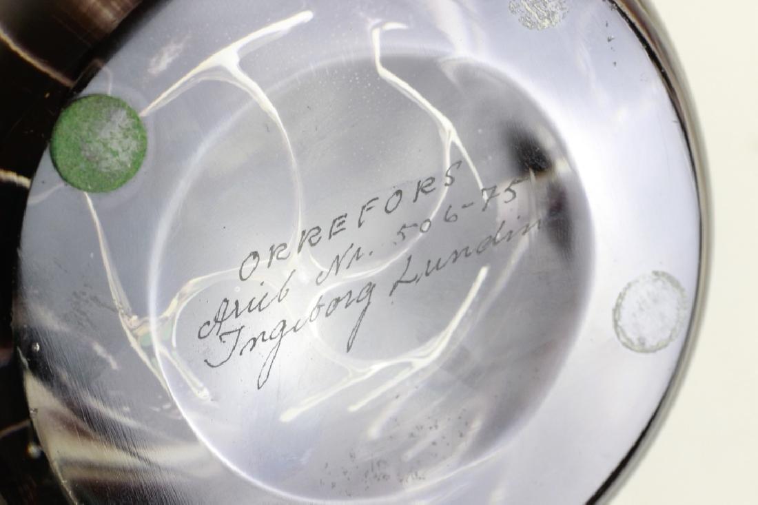 Orrefors Vase, Ariel, Nr 506-75 by Ingeborg Lundin - 5