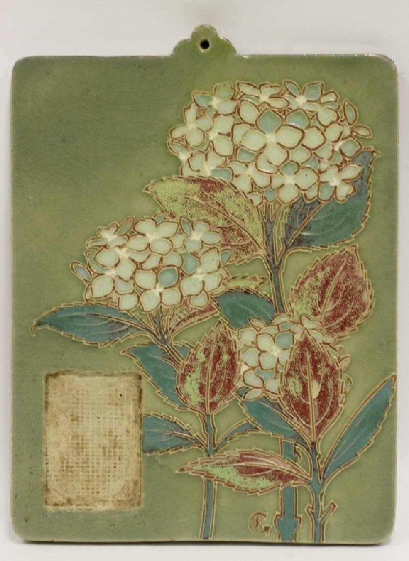 Ceramic Plaque, Signed on Back - 2