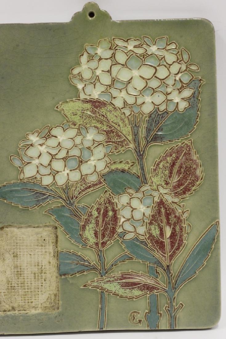 Ceramic Plaque, Signed on Back - 3