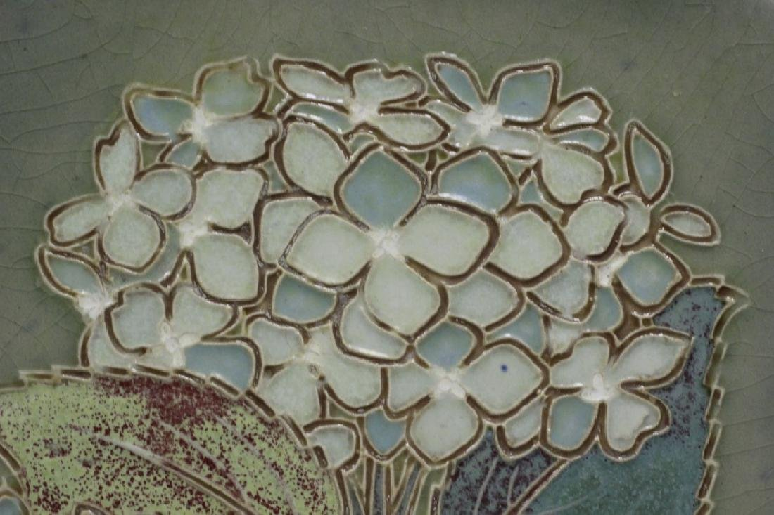 Ceramic Plaque, Signed on Back - 4