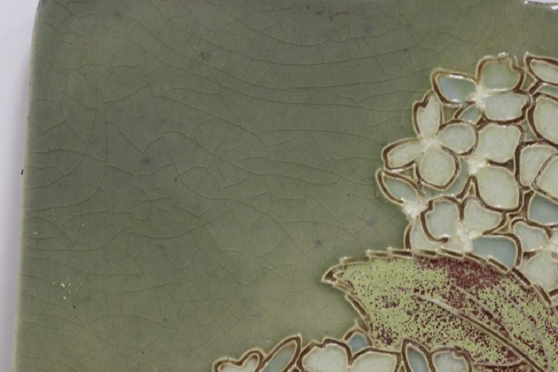 Ceramic Plaque, Signed on Back - 6