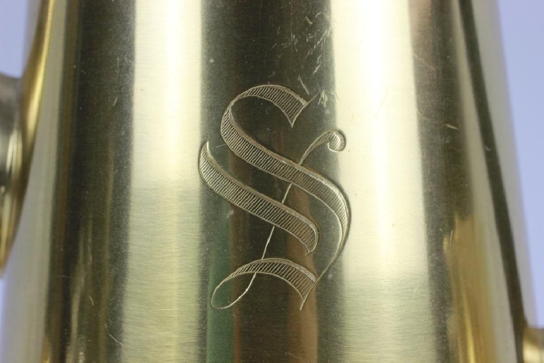Cartier Sterling Silver Gilt 3 Piece Coffee Set - 3