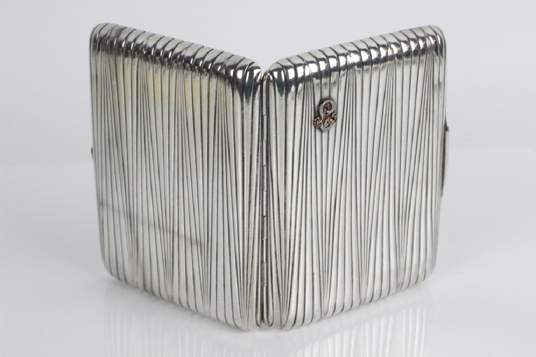 Russian Antique Silver Cigarette Box