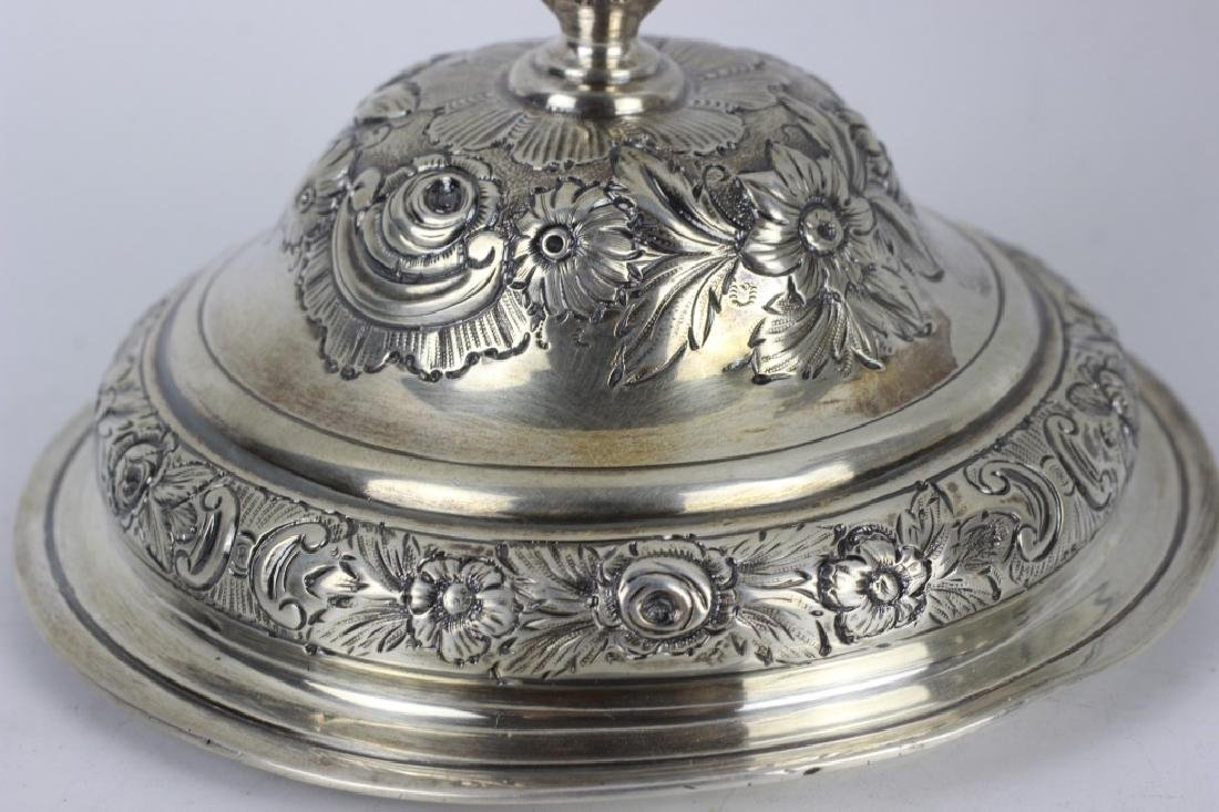 Early Georgian Silver Covered Cup, 2 Handled - 6